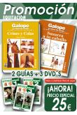 A) PACK EQUITACIÓN. 2 GUIAS + 3 DVD´S TÉCNICAS DE EQUITACIÓN